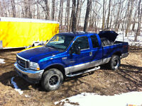 2003 Ford 7.3 liter diesel F-250 Pickup for parts or fix