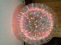boule de lumières de noel décorative