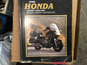 Repair manual for 1200 cc goldwing