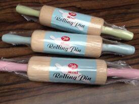 Mini Rolling Pins x 3