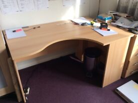 Desk and drawers - must go asap