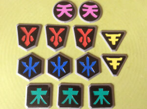 "14 Power rangers medallions 1.5"" Ajax, OntarioPu Westney"