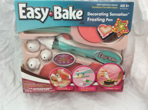 EASY BAKE Sensation Frosting Pen-NEW IN BOX-Pick up in Thornhill