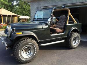 Jeep CJ7 Laredo 1986