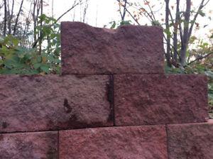 Bloc de ciment décoratif
