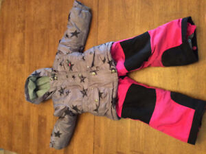 Habit de neige souris mini fille 3 ans