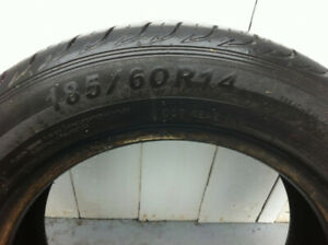 Three 185/60/14 inch tires for sale , make me an offer