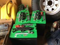 Four new Interstate deep cycle 6 volt RV / golf car batteries