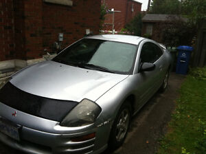 2000 Mitsubishi Eclipse Coupe (2 door)..Excellent Running car