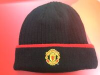 Official Manchester United FC winter beanie hat