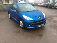 Peugeot 207 1.4 VTi 95 ( a/c ) S. Sale price to clear bargain !!!