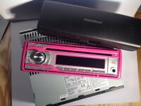 PINK MINISTRY OF SOUND CAR STEREO USED BUT IN GOOD CONDITION