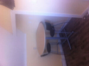 Tall Bistro Table & chairs