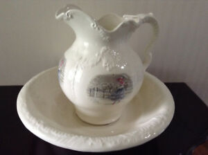 Pitcher Jug and Tray set