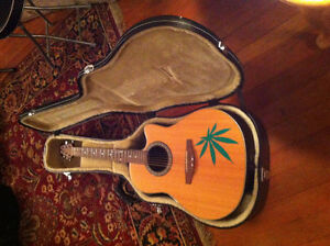 Ovation Celebrity Guitar with Hard Case