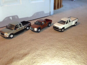 1/18 diecast cars pick up truck collection