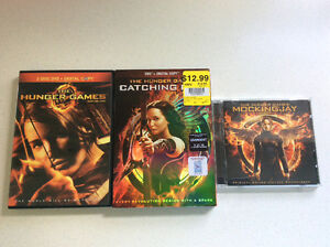 Hunger Games, Cd and DVD, PRICE: $7