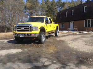 """2006 Ford F-250 """"Amarillo""""edition,chromed,lifted,exhausted,diese"""