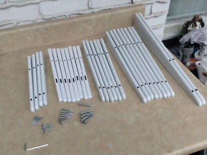 28 Pieces Rubbermaid Track