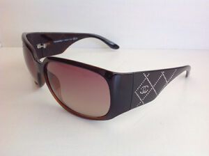 Authentic Chanel Sunglasses with Swarovski Crystals on Sides