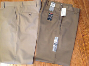 2 pair Men's DOCKER PANTS never worn 34x32 length