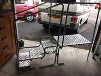 Disabled caravan steps