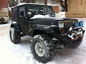 Looking to trade my jeep yj