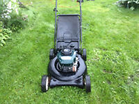 We will pick up and recycle old lawnmowers etc. in HRM