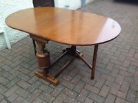 Vintage Drop Leaf Dining Table