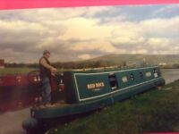 For Sale 40' Narrow Boat currently on Leeds/Liverpool canal