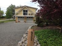 New  ocean-view carriage house suite at Comox oceanfront home