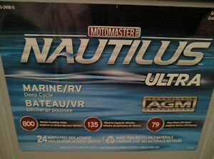MotoMaster Nautilus Ultra Group 24 AGM Deep Cycle Battery