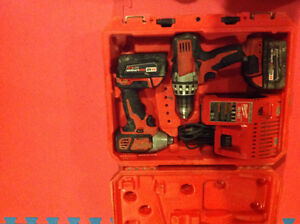 Milwaukee 2 piece combo kit