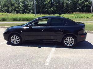 Mazda 3 2008 bas km Woww 418 454-8295