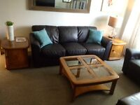 *** Coffee Table and Matching Side Table Set ****