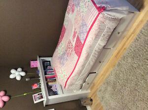 princess twin bedding, curtain, pillow, curtain rod