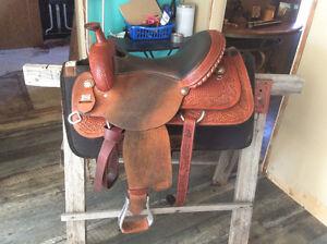 Reining Seat Saddle For Sale Edmonton Edmonton Area image 4