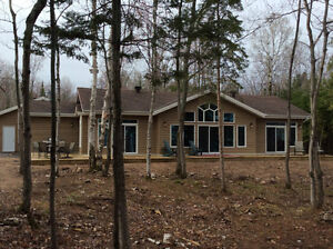 Waterfront Secluded House/Cottage on 6 acres