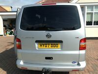 VW Transporter Shuttle with wheelchair lift