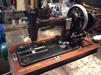 Vintage Seidel & Nauman Table top sewing machine 339