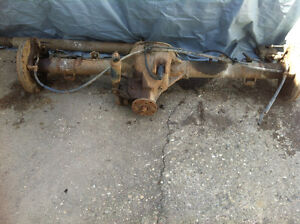 Ford Explorer 8.8 rear end. 3:73 open diff. disc brakes