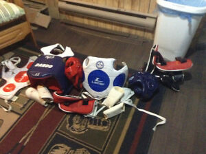 Kids sparing equipment