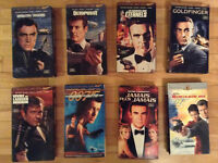 Lot de Films 8 James Bond`VHS