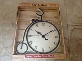 Brand new in a box wall clock
