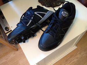 Baseball cleats and mens dress shoes
