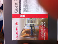 3 Air Canada Maple Leaf Lounge Guest Pass