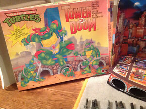 New Price TMNT Tower of Doom Vintage Game Free Collectibles London Ontario image 3