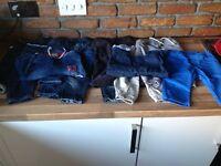 Next/Mothercare/MandS boys 9-12 months trouser bundle vgc
