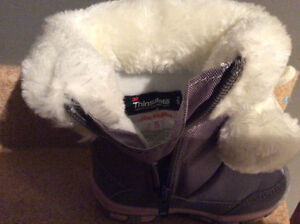 Toddler Winter Boots size 5 NEVER BEEN WORN London Ontario image 3