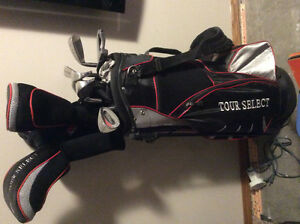 Conquest tour select 11 piece set with bag,balls etc.